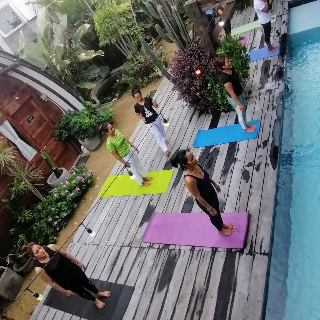 Online Power Yoga Class